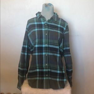 The north Face flannel shirt XL (1517)